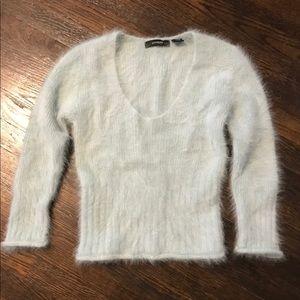 Express sweater 3/4 sleeve, 80% Angora rabbit hair